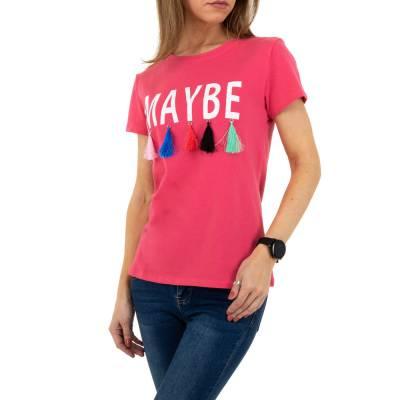 T-Shirt für Damen in Rosa