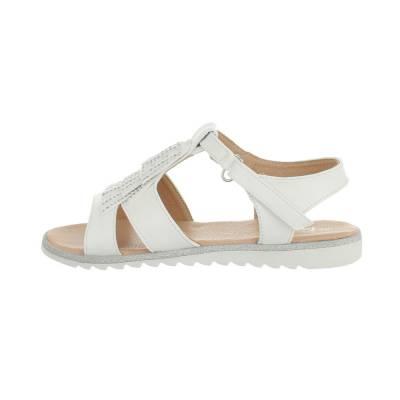 Sandalen für Kinder in Weiß