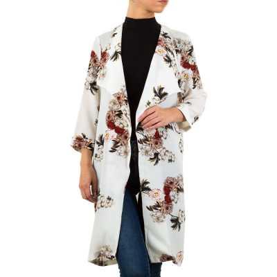 Mantel für Damen in Weiß