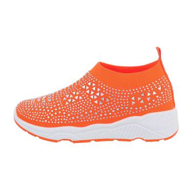 Sneakers low für Damen in Orange