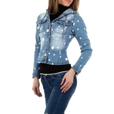 Jeansjacke für Damen in Blau