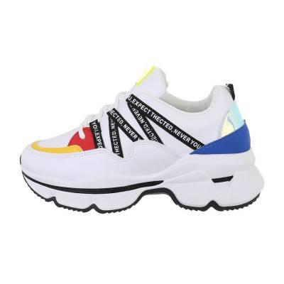 Sneakers low für Damen in Mehrfarbig