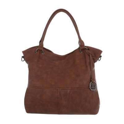 Mittelgroße Damen Tasche Braun