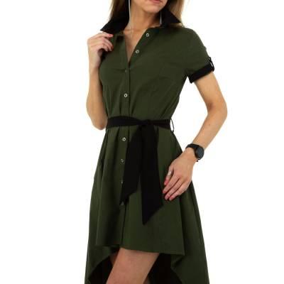 Blusenkleid für Damen in Grün