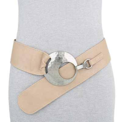 Moderner Damen Gürtel Beige