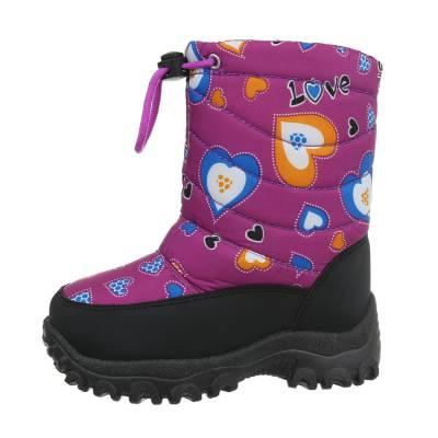 Stiefel für Kinder in Lila