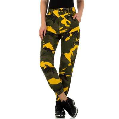 Relaxed Fit Jeans für Damen in Braun