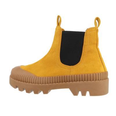 Chelsea Boots für Damen in Gelb