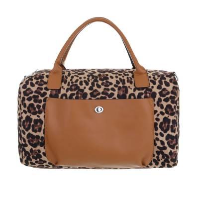 Große Damen Tasche Braun Camouflage