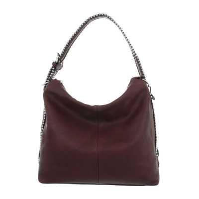 Große Damen Tasche Bordeaux