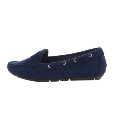 Mokassins für Damen in Blau