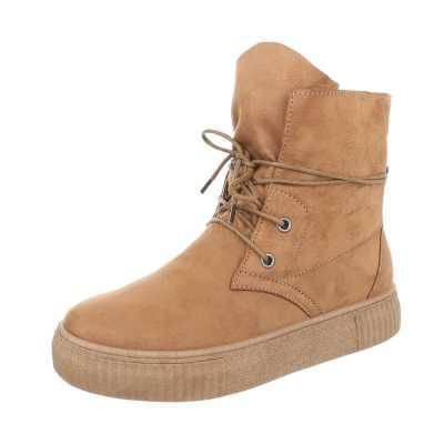 Sneakers high für Damen in Braun