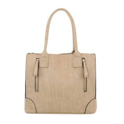 Shopper für Damen in Beige