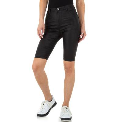 High Waist Shorts für Damen in Schwarz