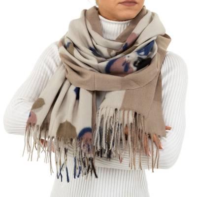 Schal für Damen in Beige