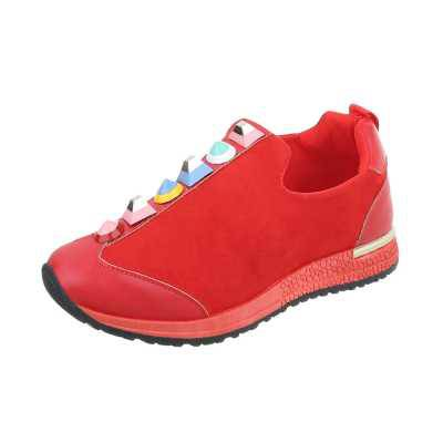 Sneakers low für Damen in Rot