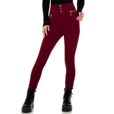 Skinny-Hose für Damen in Rot