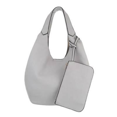 Beuteltasche für Damen in Grau