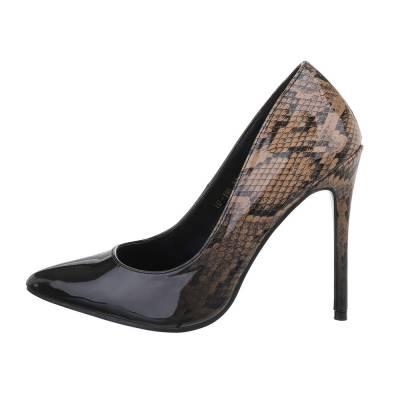 High Heel Pumps für Damen in Schwarz und Braun