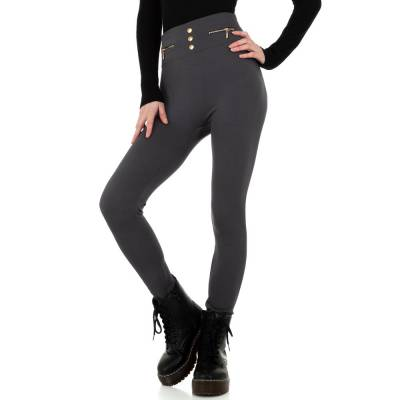 Thermo-Leggings für Damen in Grau