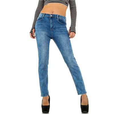 Relaxed Fit Jeans für Damen in Blau