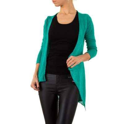 Strickjacke für Damen in Grün