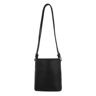 Schultertasche für Damen in Schwarz
