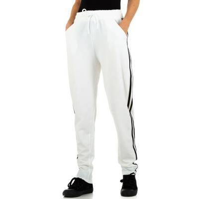 Jogginghose für Damen in Weiß