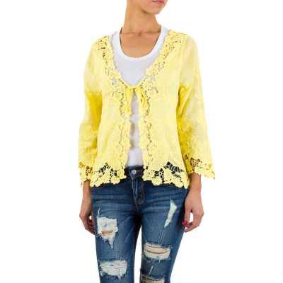 Bluse für Damen in Gelb