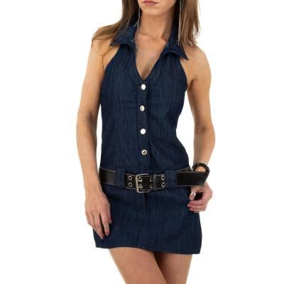 Jeanskleid für Damen in Blau