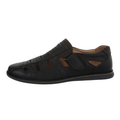 Sandalen für Herren in Schwarz