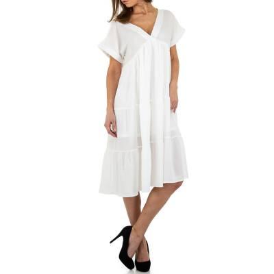 Blusenkleid für Damen in Weiß
