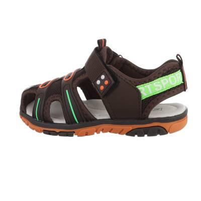 Sandalen für Kinder in Braun