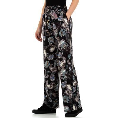 Stoffhose für Damen in Schwarz