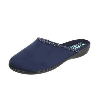 Hausschuhe für Damen in Blau