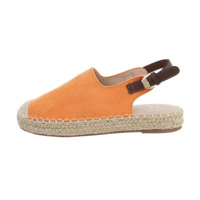 Riemchensandalen für Damen in Orange