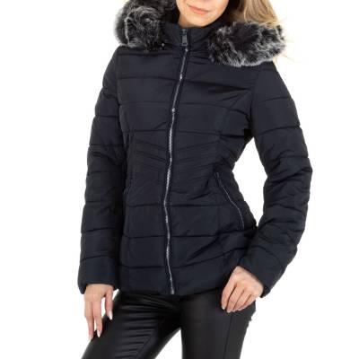 Winterjacke für Damen in Dunkelblau