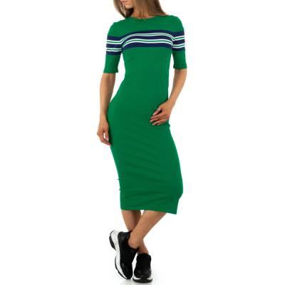 Stretchkleid für Damen in Grün
