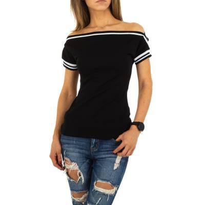 T-Shirt für Damen in Schwarz