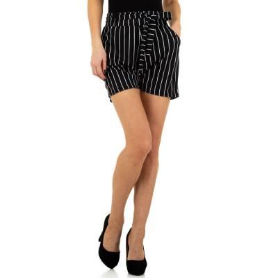 High Waist Shorts für Damen in Schwarz