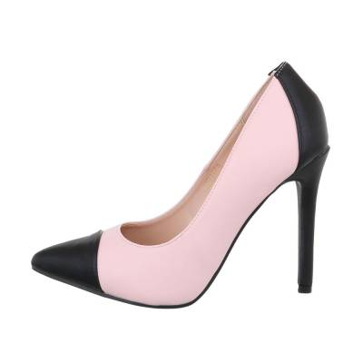High Heel Pumps für Damen in Rosa und Schwarz