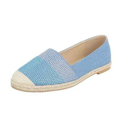 Espadrilles für Damen in Blau