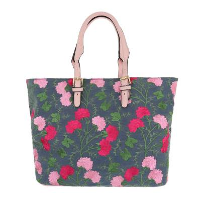 Große Damen Tasche Rosa Multi