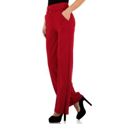 Stoffhose für Damen in Rot