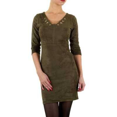 Minikleid für Damen in Khaki