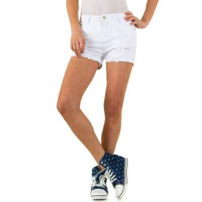 Hotpants für Damen in Weiß