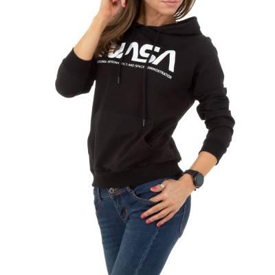 Sweatshirt für Damen in Schwarz