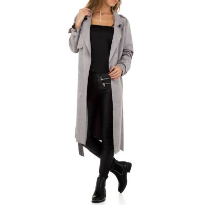 Trenchcoat für Damen in Grau