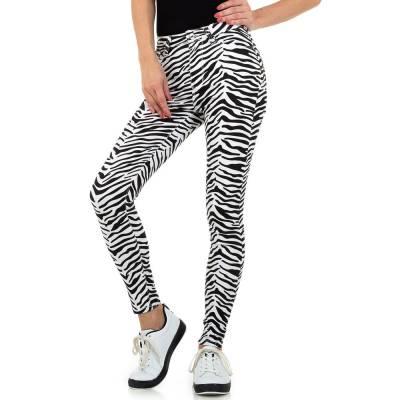Skinny-Hose für Damen in Weiß