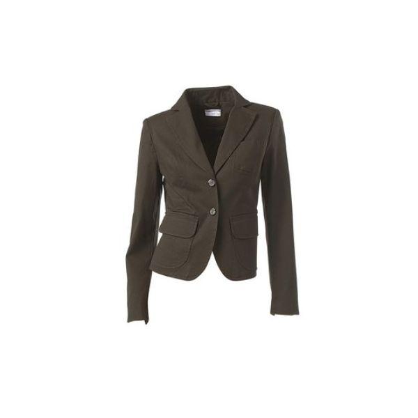 luxus neu designer damen blazer jacket heine k561 braun ebay. Black Bedroom Furniture Sets. Home Design Ideas